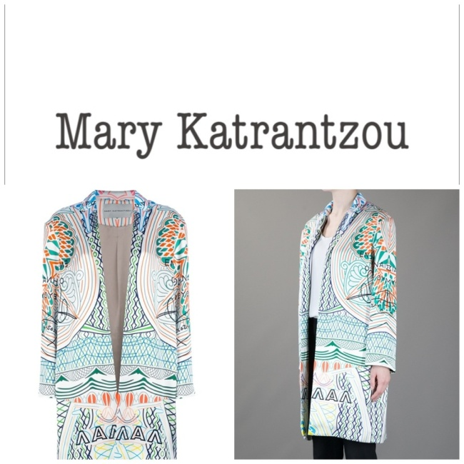 New Emerging fashion designer from Greece Mary Katrantzou