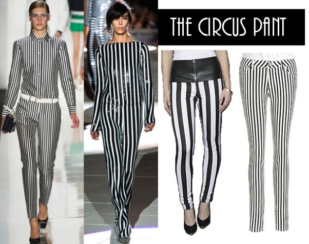 Stripes in fashion history 25